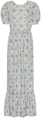 Baum und Pferdgarten Aerin printed cotton maxi dress