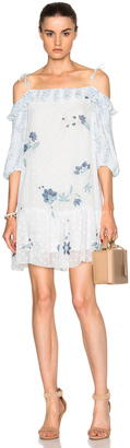 See By Chloe Off Shoulder Mini Dress $495 thestylecure.com