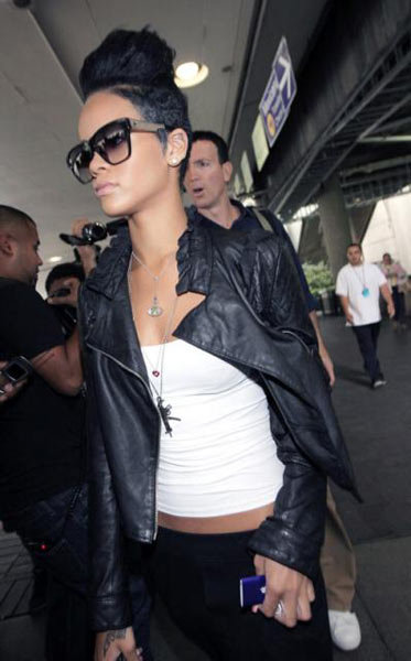 Dallin Chase Black Leather Jasper Jacket - As Seen On Rihanna