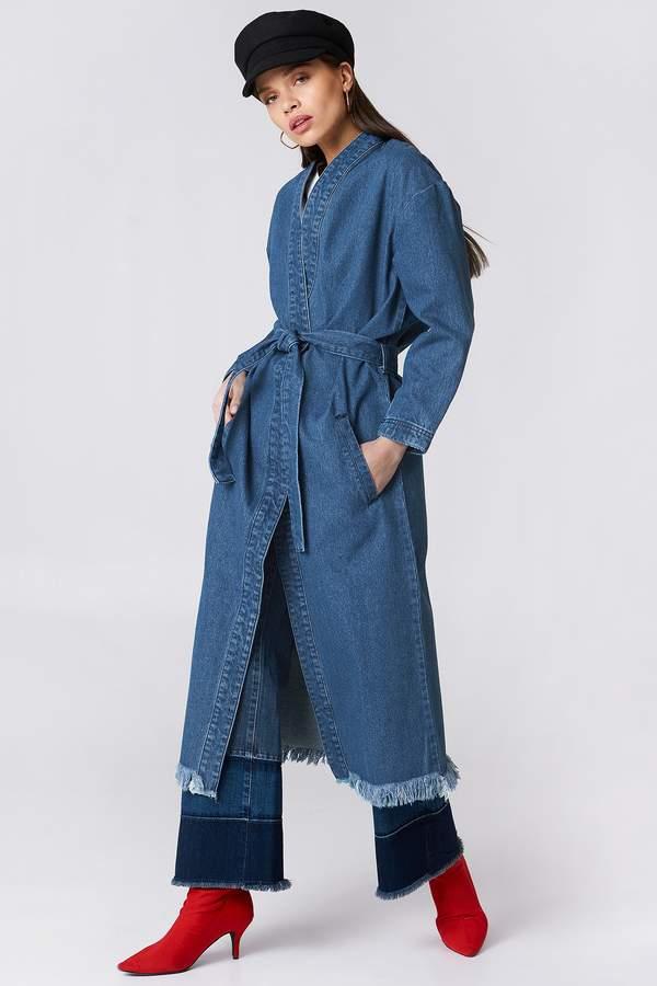 Na Kd Trend Denim Coat
