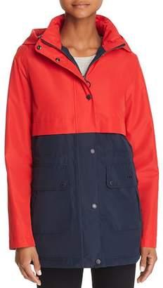 Barbour Altair Color-Blocked Raincoat