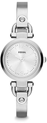 Fossil Women's Georgia Quartz Stainless Steel and metal Dress Watch Color: (Model: ES3269)