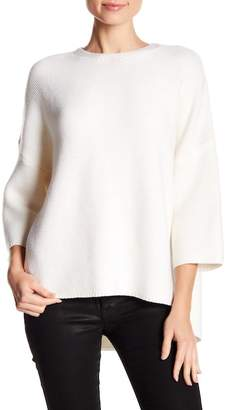 ATM Anthony Thomas Melillo Merino Wool Trapeze Crew Sweater