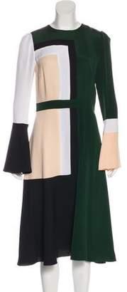 Prabal Gurung 2017 Colorblock Dress w/ Tags