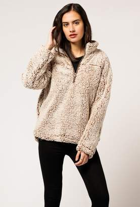Azalea Fluffy Fleece Sweater