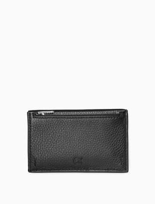 Calvin Klein pebble essentials zip card case
