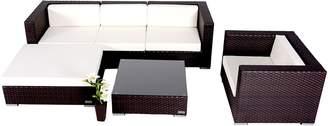 Tabitha Homeflex Outdoor Settings 6-Piece Outdoor Lounge Set