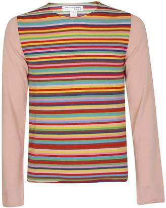 Comme des Garcons Boys Boys Striped Longline Sweater