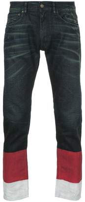 Ports V colour block jeans
