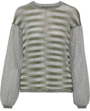Missoni Metallic Crochet-knit Sweater