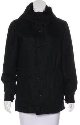Antik Batik Fur-Trim Short Coat