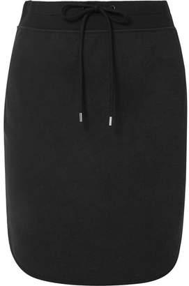 James Perse Cotton-blend Jersey Mini Skirt - Black