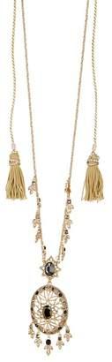Marchesa Crystal Dream Catcher Pendant Necklace