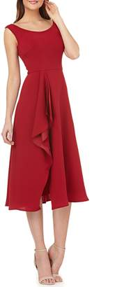 Carmen Marc Valvo Cascade Dress