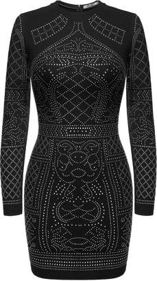at Amazon Canada · Meaneor Women Long Sleeve Bodycon Diamond Sequin  Cocktail Dress M 60abbb857db0