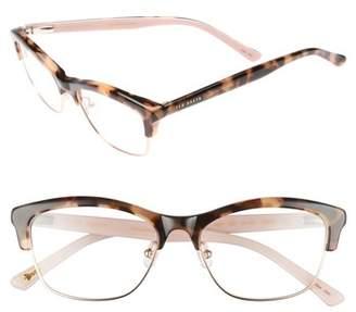 Ted Baker 51mm Optical Cat Eye Glasses