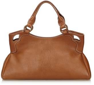 Cartier Vintage Leather Marcello Handbag