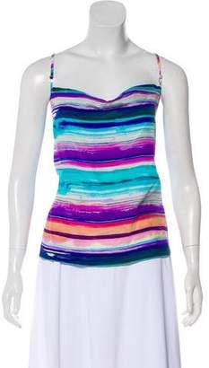 Amanda Uprichard Printed Sleeveless Top