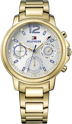 Tommy Hilfiger 1781742 Claudia PVD gold-plated watch