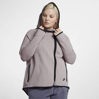 Nike Sportswear Tech Fleece (Plus Size) Women's Full-Zip Cape