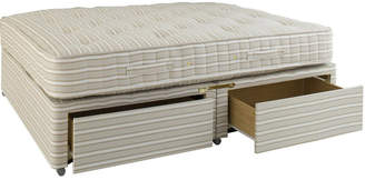 OKA King Size Divan Bed with Drawers