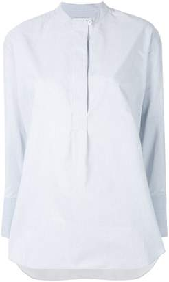 YMC long-sleeve fitted shirt