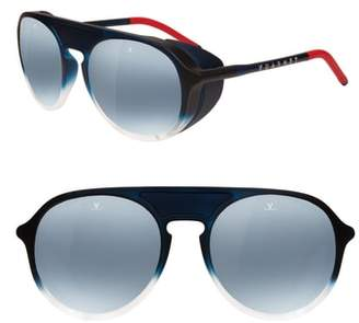Vuarnet Ice 51mm Polarized Aviator Sunglasses