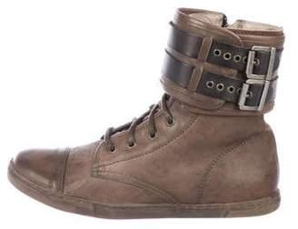 AllSaints Leather Ankle Boots