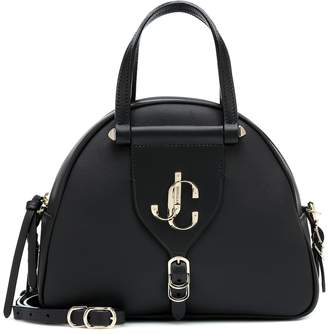 Jimmy Choo Varenne leather bowling bag
