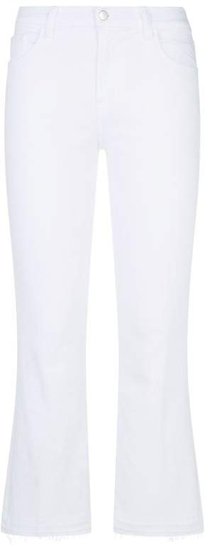 Selena Crop Bootcut Jeans