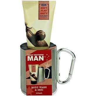 Great Southern Man Body Wash & Carabiner Mug Set 2 pack