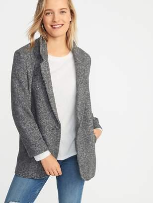 Old Navy Soft-Brushed Herringbone Coat for Women