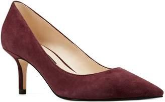 Nine West Slip-On Leather Pointed-Toe Pumps - Arlene