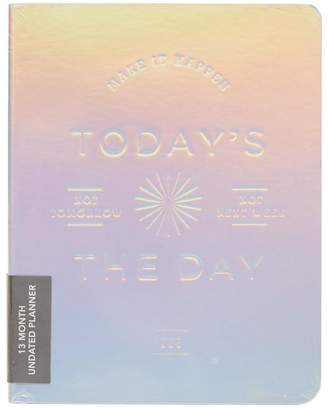 Chronicle Books Abrams and Today's the Day Holographic Deluxe Pocket Undated Planner