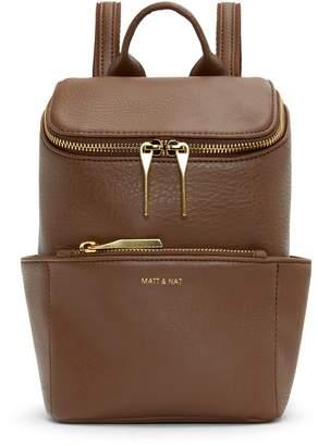 Matt & Nat BRAVEMINI Mini Backpack - Brick