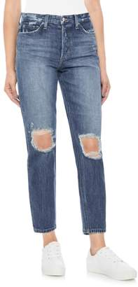 Joe's Jeans Smith Ripped High Waist Ankle Jeans