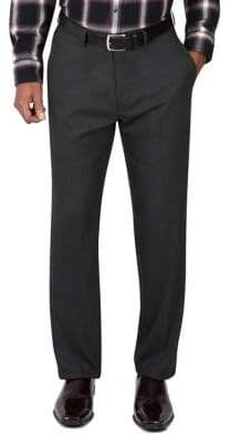 Haggar Tailored-Fit Melange Twill Suit Pants