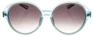 Sama Eyewear Round Tinted Sunglasses w/ Tags