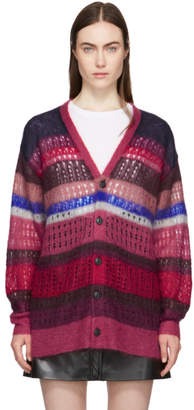 Rag & Bone Red and Blue Nassau Cardigan