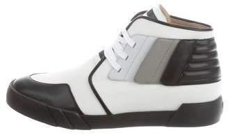 Giuseppe Zanotti Round-Toe High-Top Sneakers w/ Tags