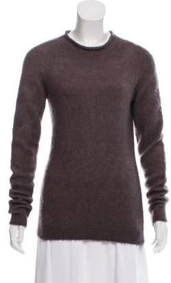 The Row Long Sleeve Mock Neck Sweater