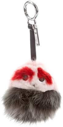 Fendi Mink & Fox Fur Buggies Bag Charm