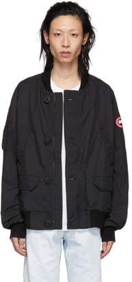 Canada Goose Black Faber Bomber Jacket