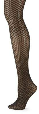 DKNY Diamond Control Fishnet Tights