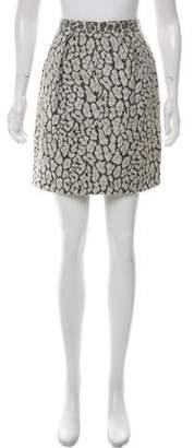 Matthew Williamson Textured Mini Skirt