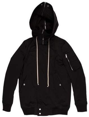 Rick Owens Hooded Bomber Coat w/ Tags