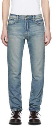 424 Indigo Straight-Leg Jeans