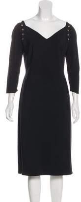 Chiara Boni Sweetheart Midi Dress