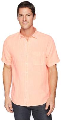 Tommy Bahama Short Sleeve Seaspray Breezer Camp Shirt Men's Clothing