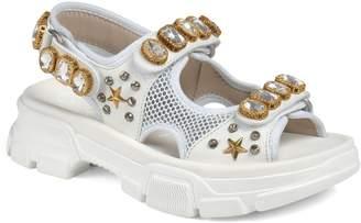 Gucci Aguru Jewel Sandal